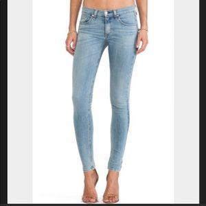 Rag & Bone faded skinny jeans, size 32 NWT